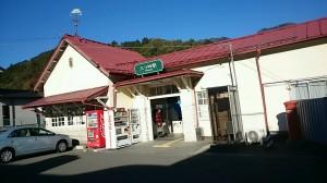 三つ峠駅舎