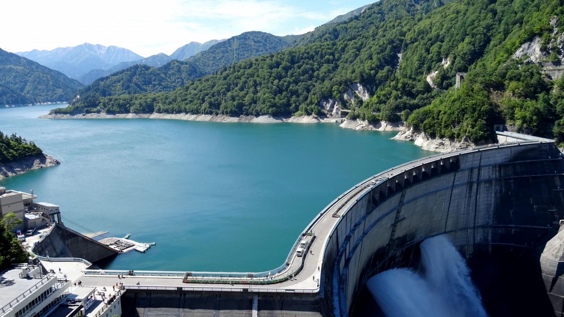 富山県の黒部ダムまで遠征