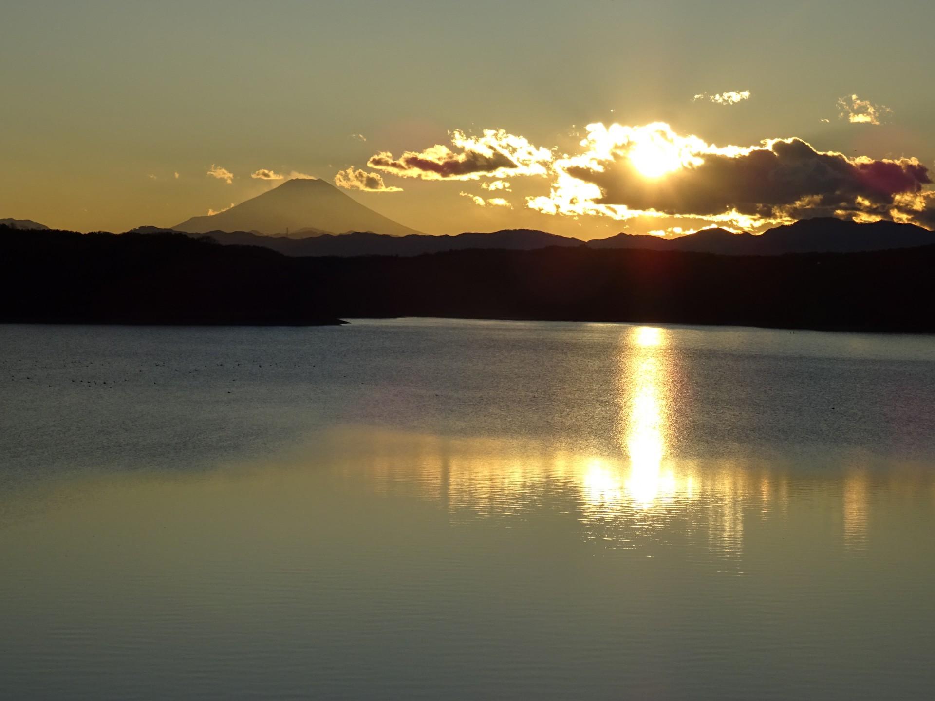 今月の狭山湖詣で