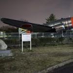 α7Sで撮影した深夜の航空公園
