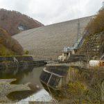 奈良俣ダムとカレーと洞元の滝