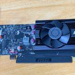 8年ぶりのビデオカードはGeForce GT 1030にした