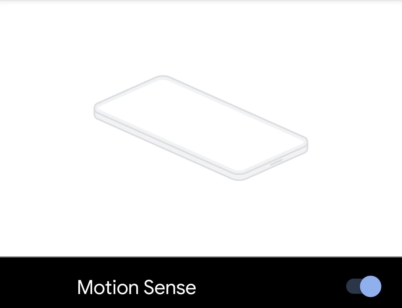 Pixel 4 XLで「Motion Sense」が使えるようになった